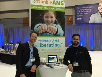 Nimble AMS at Salesforce World Tour DC